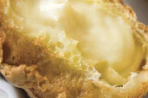 Vanilla Cream Puff Donut