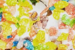 Fruity Pebbles Donut