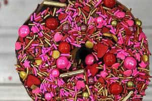Valentines Day Donut