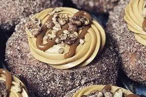 Caramel Pecan Praline Donut