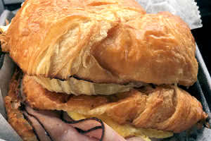 Egg and Ham Croissant