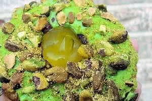Pistachio Lemon Donut