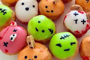 Halloween Donut Holes