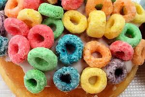 Fruit Loops Donut