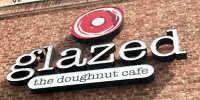 Glazed. The Doughnut Cafe