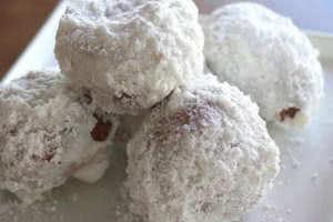 Powdered Dough Balls