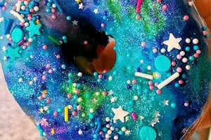 Galaxy Sprinkles Donut