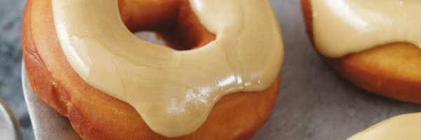 Maple Glazed Donuts