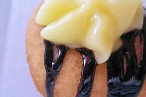 Mini Boston Cream Donut
