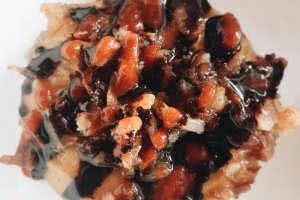 Mini Gluten Free Maple Bacon Donut