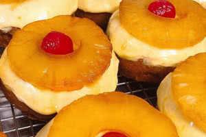 Pineapple Upside Down Donut