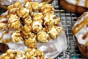 Caramel Corn Donut