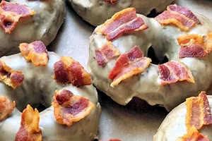 Maple Bacon Brioche Donut