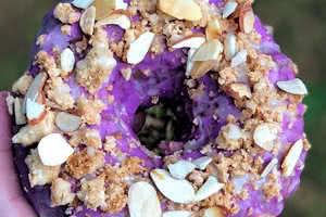 Lavender Honey Pie Donut