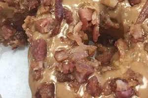 Caramel Bacon Donut